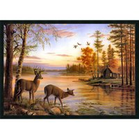 painting and decorating craft - Classic art prints reproduced on canvas oil painting craft gift decorates your home office shop garden framed and unframed options