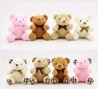 Wholesale wholesale wedding teddy bears - Teddy bear Stuffed Plush Toys teddy bear stuffed toys Wedding gifts teddy bear Keychain