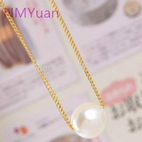 Wholesale Wild Pearl - Fashion Simple Imitation Pearl Temperament Short Necklace Modern Pearl Necklace Wholesale Wild Woman