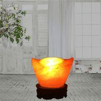 Wholesale Switch Mines - Wholesale crystal salt lamp Himalayan import rock salt mine gold ingot creative decorative lamp gift quality
