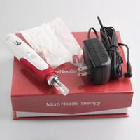 timbre micro aiguille rouleau derma achat en gros de-Stylo électrique de stylo de Derma Micro aiguille rouleau anti-vieillissement baguette de thérapie de peau MYM stylo derma