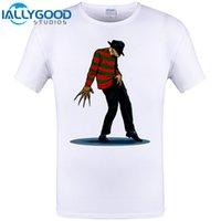 Wholesale Cool Mens Shirt 3xl - FREDDY CAN DANCE Michael Jackson Funny Design Mens T Shirt Short Sleeve Tops O-neck Tee Men Cool Hipster Tops Tee Shirts 6XL