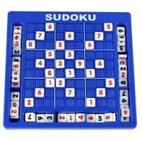 Wholesale puzzles tables - Sudoku Cube Number Game Sudoku Puzzles for Kids Adult Math Toys Puzzle Table Game Children Learning Educational Toys DHL free shipping