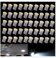 Wholesale Side Steps - 200PCS T10 W5W 194 168 8SMD 3528 LED Step Light Bulbs Super White For Tail Light Bulbs