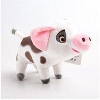 Wholesale Collectible Pigs - Moana Plush Toys Kawaii Princess Moana Pig Maui Plush Stuffed Toy Cartoon Moana Adventure Doll Toys for Children DHL Free Shipping
