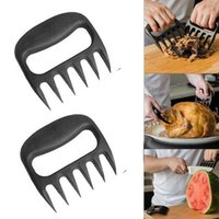 Wholesale meat claws - Grizzly Bear Paws Meat Claws Handler Fork Tongs Pull Shred Pork BBQ Barbecue Tools BBQ Grilling Accessories with Retail box IB396