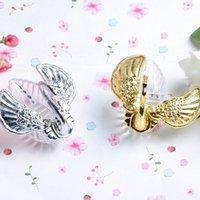 Wholesale Celebration Candy Box - Wedding Favor Box Christmas Valentine's Celebration Gift Elegant Romantic Swan Candy Box Gold Silver Party Decoration WA2034