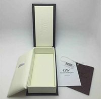 Brown original instructions - 2017 Retail Luxury Brand Daniel Wellington Watch Box Dw Original Watch Box With Instructions And Manual Case cm Without Watch DHL free