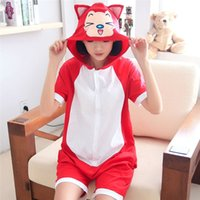 Unisex Adult Tiger Pajamas Summer Short Sleeve Women Onesie Мои друзья Тигр Костюм Косплей Animal Onesies Мультфильм Sleepwear