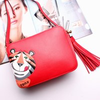 Wholesale 2017 Charm New Leather Handbags Shoulder Messenger Messenger Small Package European aAnd American Fashion Star Models Summer Bag