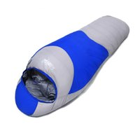 Cold Weather Camping Sleeping Bag Mummy White Duck Down Sleeping Bag Открытый кемпинг Duck Down Sleeping Bags