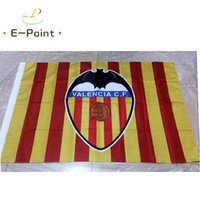 Polyester spain flags - Spain Valencia CF Type B ft cm cm Polyester flag Banner Netherlands decoration flying home garden flag Festive gifts