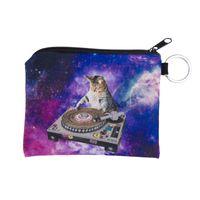 Wholesale Galaxy Change - Wholesale- New Women Coin Purses Cute Girl Mini Bag Key Ring Case Zipper Wallet Lovely di cat galaxy Pouch Change Purse wholesaleCP4018