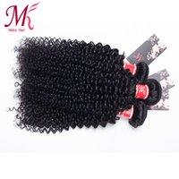 Wholesale India Wholesale Goods - Indian Kinky Curly Hair 4pcs Lot Indian Virgin Hair Kinky Curly Human Hair Weave Bundles from India Good Quality free tangle and shedding