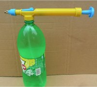 Wholesale Supply New Plastic Interface Juice Water Mini Sprayer Gun Pressure Bottles Interface