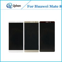 Wholesale High Mate - For Huawei Mate 8 Touch Screen Lcd Display Digitizer Lcd Assembly Complete High Quality A+++ Replacment