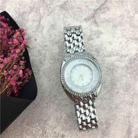 Wholesale diamond life - 2017 Famous Brand Luxury Style Women watch Rolling Diamonds Dress watch Stainless steel Nobel Female Quartz Jewelry buckle Life Waterproof