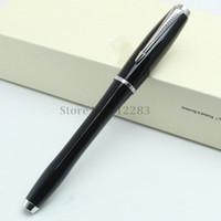 pluma parker negra al por mayor-Alta calidad Parker City Series Classic Schwarzwald Bosque Negro Roller Ball Pen papelería útiles de oficina escolares pluma de escritura