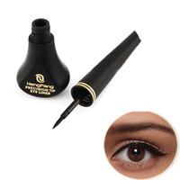 новый подводка для глаз водонепроницаемый черный оптовых-Wholesale-New Black  Cosmetic Waterproof Liquid Eyeliner Eye Liner Pencil Pen Beauty # M01217