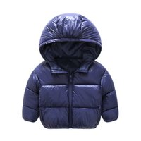 Wholesale Warm Jacket For Baby Boy - 2017 New kids Winter Warm Coat Baby Boys Girls Outerwear & Coats Fashion White Duck Down children Jacket Coat for Boys clothing