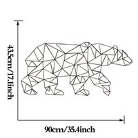 Wholesale Free Pattern Wallpapers - 2016 Sale Estrella Polar Bear Wallpaper Linear Pattern Series Products Home Decor Wall Art Stickers Simple Fashion Decoration free Shipping