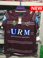 Wholesale Browning Eagle - Manly Sea Eagles Jersey 2017 Marvel Falcon home Rugby Jerseys shirts Men t shirts S-3XL