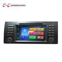 ingrosso e39 tv-Aggiornato 4G RAM Octa Core Android 8.0 Lettore DVD per auto per BMW X5 / M5 / E38 / E53 / E39 con Radio GPS Navi Wifi DVR Mirror Link