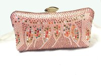 Wholesale Knuckle Skull Wallets - Fashion Women bag Knuckle Skull evening bag Handbags Shoulder Chain Punk Wallet for party GLB-10