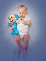 Wholesale Soothe Glow - Wholesale- New Baby Soothe Glow Dog Soothe and Glow dog sleep light soft luminous and sounding plush toy kids baby best gift