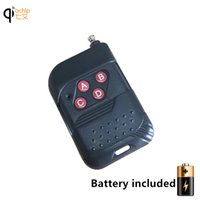 Wholesale Garage Door Lights - Wholesale-433mhz RF Remote Control Learning code 1527 EV1527 For Gate garage door controller Light Switch 433 mhz Receiver with Battery