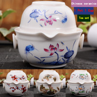 Wholesale Kung Fu Teapot Set China - china good product kuaikebei Kung Fu Tea set Include 1 Pot 1 Cup, High quality elegant gaiwan,Beautiful and easy teapot kettle