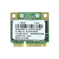 Wholesale wifi card pcie - Wholesale- BCM943228HMB 802.11a b g n 300Mbps Bluetooth 4.0 2.4&5G BT4.0 Mini PCIe Wlan WiFi wireless Network card