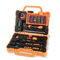 mantenimiento del iphone al por mayor-DHL 20 Conjuntos JAKEMY JM-8139 45 En 1 Destornillador Kit de herramientas de mantenimiento para el hogar de precisión para iPhone Computación Electrónica Conjunto de herramientas de reparación
