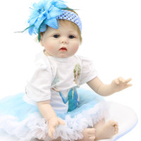 Wholesale Cheap Silicone Doll - Cheap Boy Toys For Sale 22inch Reborn Silicone Body Baby Dolls Look Like Real Baby Handmade Doll Reborn