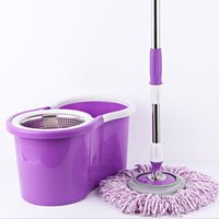 Wholesale Wholesale Microfiber Mop Head - 360 Degree Rotating Head Easy Magic Microfiber Spinning Floor Cloth Mop Head Only one Mop Head