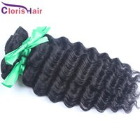 Wholesale Wholesale Milky Way Weave - Raw Indian Remi Deep Wave Hair Bundles Cheap Indian Unprocessed Deep Curly Human Hair Weave Wefts Wholesale 4pcs Milky Way