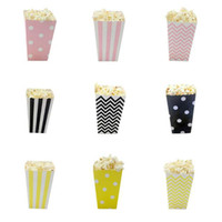 En gros Mini Party Paper Popcorn Boxes Bonbons / Sanck Favor Sacs De Mariage D'anniversaire Movie Party Supplies livraison gratuite