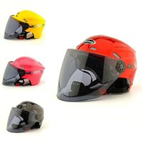 Wholesale Summer Helmet Sunscreen UV proof protect Safety Front glass Open man women outdoor Motorcycle travel
