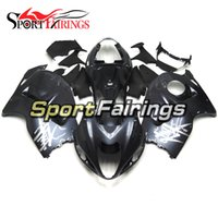 Wholesale Injection Mold For Hayabusa - Fairings For Suzuki GSXR1300 Hayabusa 1997 - 2007 Year 97 98 99 07 ABS Injection Motorcycle Fairing Kit Motorbike Cowling Dark Purple Gray