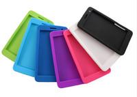 Wholesale Cover Tablet Huawei Mediapad - Wholesale-Luxury Silicon case cover For Huawei MediaPad T1 7.0 Tablet case for huawei t1 7.0 T1-701u case