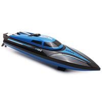 Wholesale Rc Remote Screen - Wholesale- New Arrival Skytech H100 RC Boat 2.4GHz 4 Channel High Speed Racing Remote Control Boat with LCD Screen