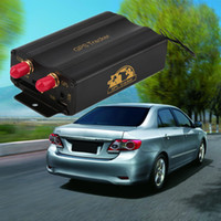 Wholesale Chinese Wholesale Poland - TK103B GPS tracker Control Portoguese Manual Quad band SD card 103 PC&web-based system
