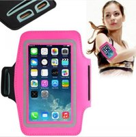 Wholesale Mobile Phone Special Case - Running Mobile phone armband waterproof armband for iPhone 6 special running relax sport phone armband