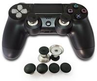 agarre del thumbstick para xbox uno al por mayor-Pulsador de palanca intercambiable mejorado Joystick Pulsador de agarre Tapas para XBOX One Controlador de élite para Sony PS4 Playstation 4 DualShock 4
