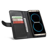 çok fonksiyonlu telefon cüzdanları toptan satış-Cüzdan deri cep telefonu kılıfı İşlevli cüzdan kart tutucu sikke çanta darbeye dayanıklı telefon kapak iphone 6 6 s 7 Artı US01