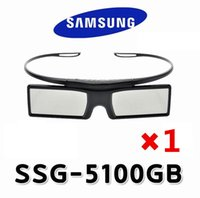 Wholesale Es Series - Wholesale- Free Shipping 100% New Genuine Original 3D Bluetooth Active Shutter Glasses for Samsung SSG-5100GB With D E ES F H HU Series
