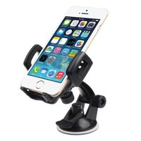 Wholesale Windscreen Cup Holder - Wholesale- Tiptop New Universal Car Windscreen Suction Cup Stand Holder For iphone6 Plus GPS Free Shipping &Wholesale DEC1