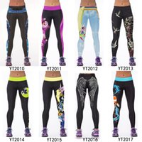 Wholesale Sexy Silver Leggings - 24 Designs women leggings Sport Running Tights Warm Sports Legging Pants Work out Black Casual Sexy Fitness Leggings Leggins Pants Plus Size