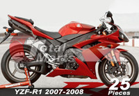 Wholesale Fairing Fit For Yamaha YZF R1 R YZF R1 YZFR1 Injection Red FA8712 White FA8735 Blue FA8739 Yellow FA8740 Black FA8713