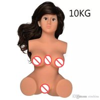 Wholesale man realistic girl dolls - Japanese Silicone Sex Dolls For Men Sex Shop Vagina Girl Rubber Pussy Silicone Ass Erotic Sex Toys Masturbation Cup